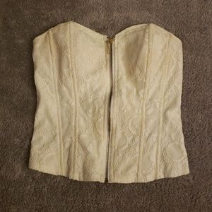 Tops - Corset/top champagne color